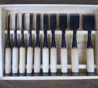 Japanese Tools for Ohuchi (Ouchi) Bench Chisels/Oire Nomi. Ohuchi (Ouchi) Kakuuchi Oire Nomi/Bench Chisels